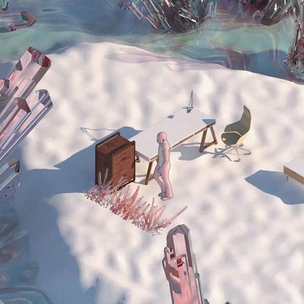 Erasing Walls - Virtual Fiction